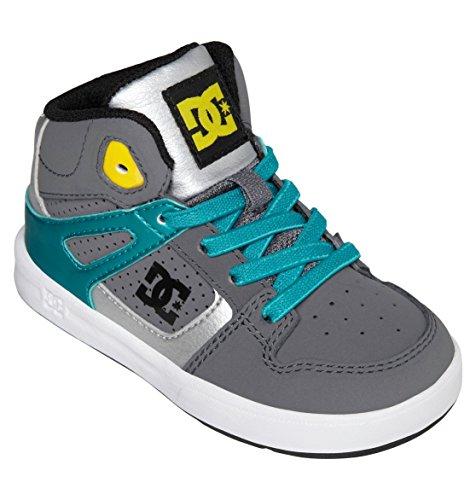 Dc Rebound Ul Sneaker (Toddler),Grey,9 M Us Toddler front-915522