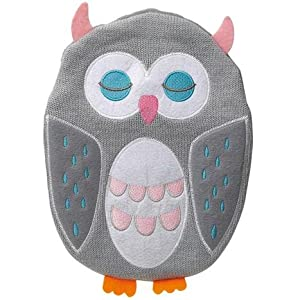 GREY OWL HOT WATER BOTTLE & KNITTED COVER