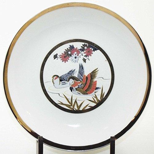 Vintage Japan Fine China Chokin Style Wood Ducks 6 Vintage Fine China Japan