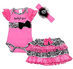 Baby butterfly headdress & Baby Girl\'s Dress Suits Romper Type YSQH6333, Pink, 6 Months