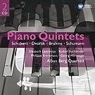 Schubert - Dvorak - Brahms - Schumann : Quintettes pour piano