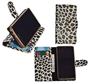 R&A Pu Leather Wallet Flip Case Cover With Card & ID Slots & Magnetic Closure For Sony Xperia M2