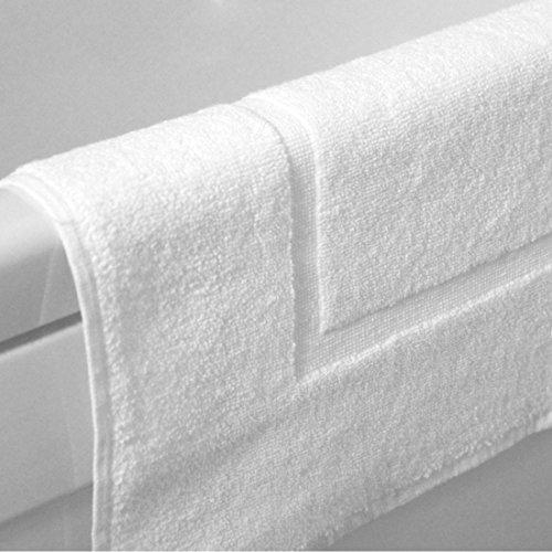 egyptian-cotton-plain-border-design-650gsm-bath-mat-by-sleepbeyond-white-2-pack