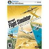 Microsoft Flight Simulator X Deluxe DVD - PC ~ Microsoft