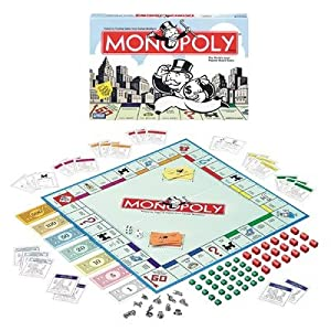 Parker Brothers Classic Monopoly Board Game