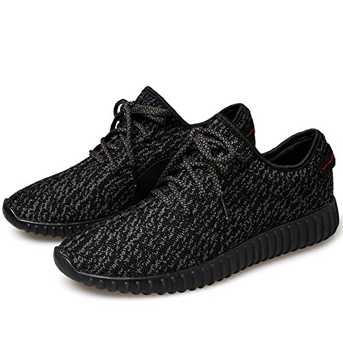 02/ JACKSHIBO Men Women Unisex Couple Casual Fashion Sneakers Breathable Athletic Sports Shoes(Sold by NO.1 Store)