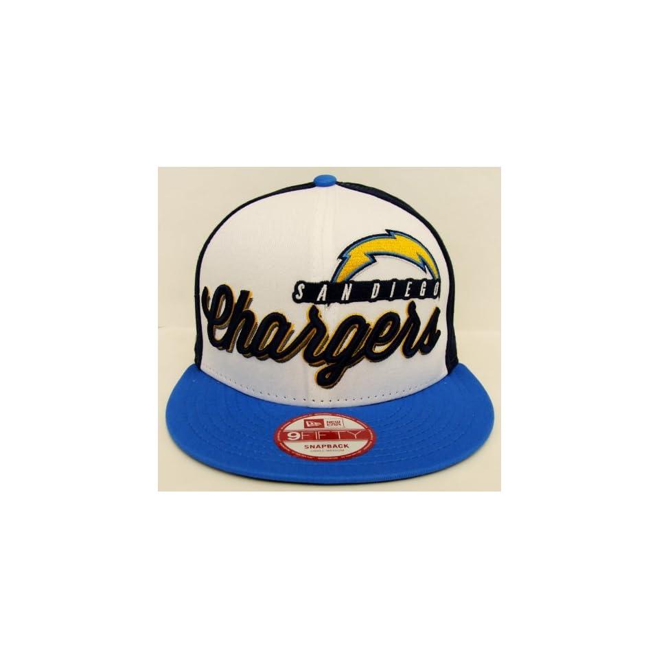 San Diego Chargers Retro New Era Chriograph Snapback Cap Hat M/L