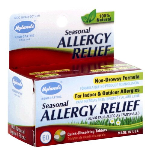 Hyland's - Seasonal Allergy Relief, 60 tablets