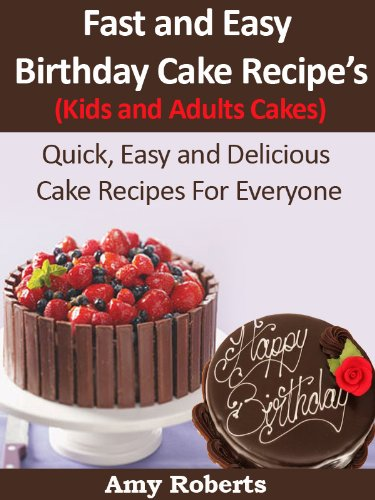 Easy cake recipes for kids for Quick and easy cake recipes