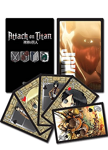 Attack On Titan Playing Cards - 1