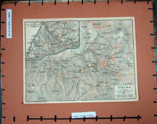 cintra-collares-gallamares-di-pianificazione-del-portogallo-1913-della-mappa