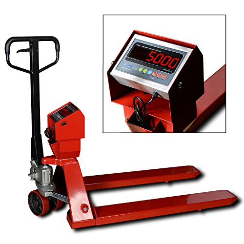 New Prime Scales PS-5000PJ Pallet Truck Scale | Pallet Jack Scale 5000x1lb Low Profile (Low Profile Pallet Truck compare prices)