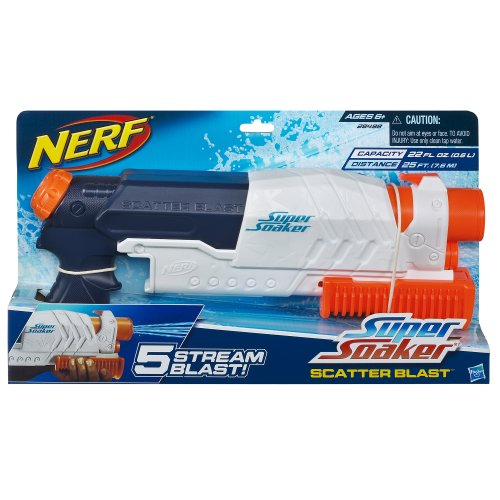 SuperSoaker Scatter Blast Water Blaster