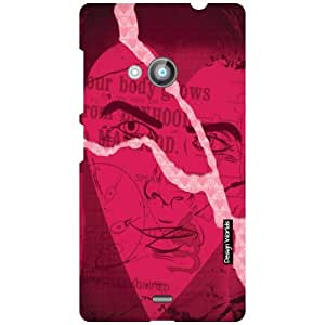 Design Worlds Nokia Lumia 535 Back Cover Designer Case and Covers