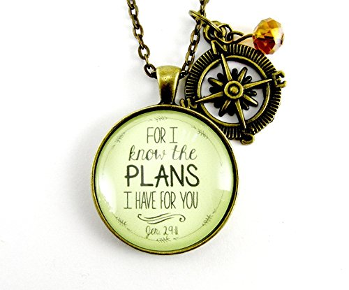 for i know the plans i have for you 24 necklace christian