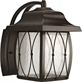 Progress Lighting P5619 20 1 Light Montreux Medium LED Wall Lantern Antique Br