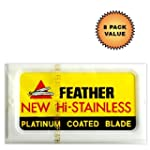 Feather Hi-Stainless Platinum Double...