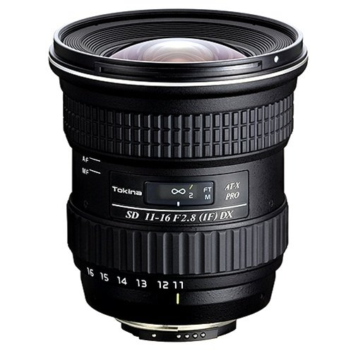 Tokina AT-X116PRDXN AT-X PRO DX 11-16mm Ultra-wide Angle Lens for Nikon