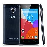 "Thl T6C - Smartphone libre Android (pantalla 5"", c�mara 8 Mp, 8 GB, Quad-Core 1.3 GHz, 1 GB RAM), negro"