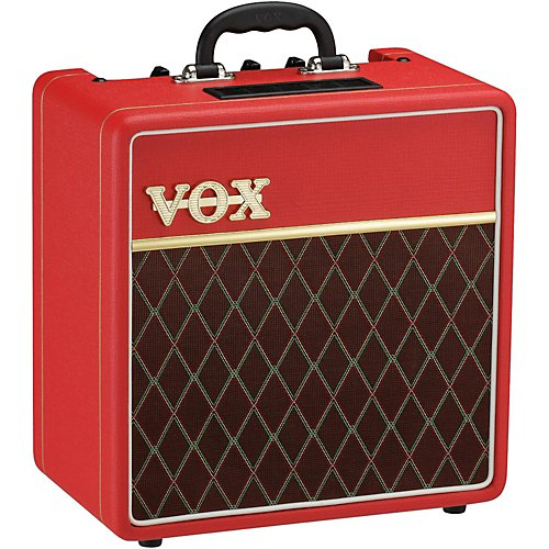 Vox AC4 1x10 Classic Red Limited Edition Tube Guitar Combo Amp