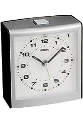 Seiko QHE129KLH Analog Quartz Alarm Clock