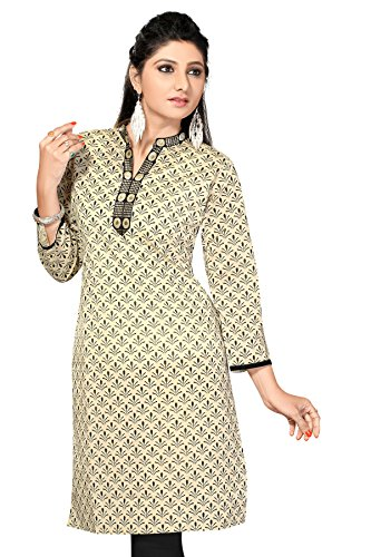 Cotton Printed Short Designer Printed Kurtis