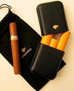 Cohiba Zigarrenetui für Siglo VI Schwarz