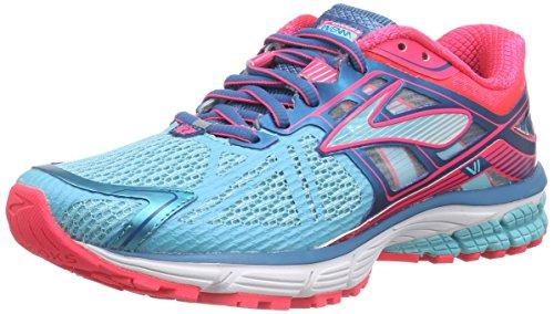 Brooks Women's Ravenna 6 Running Shoe Capri/Celestial/Diva Pink Size 8 (Brooks Running Shoes Women Size 8 compare prices)