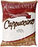 General Foods International Coffees Hazelnut Belgian Cafe Cappuccino Mix, 32-Ounce Packages (Pack of 6)