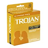 Ultra Ribbed Latex Condoms, Premium Lubricant, 36-Count Boxes (Pack of 2)