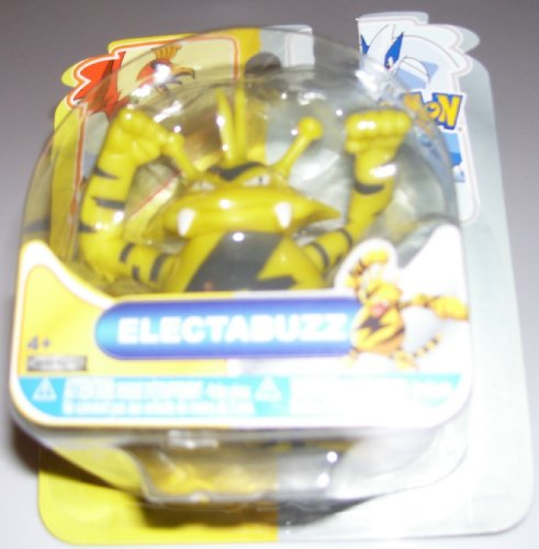 Buy Low Price Jakks Pacific Pokemon Heartgold & Soulsilver Johto Basic Action Figure Electabuzz (B004GZJNU8)