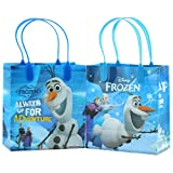 Disney Frozen  I am Olaf  Premium Quality Party Favor Reusable Goodie Small Gift Bags 12 (12 Bags)