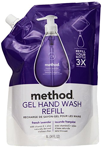 gel-hand-wash-refill-34-oz-natural-lavender-scent-plastic-pouch-sold-as-1-each