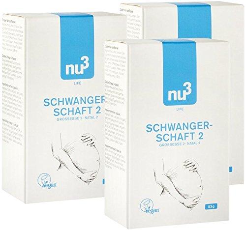 nu3-schwangerschaft-2-vegan-3x-30-kapseln-mit-wichtigen-vitaminen-und-folsaure-plus-3x-30-kapseln-ve