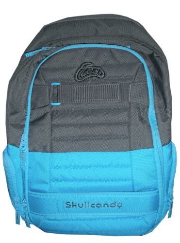 Skullcandy Ink'D Multiple Compartment Downshift Backpack Light Blue And Gray 0285