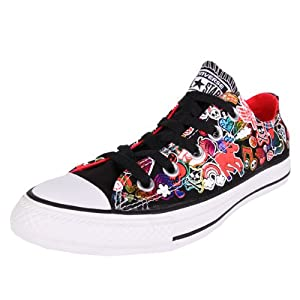 Converse AS Sticker Print Ox Can Black Multi 38