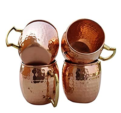 Hand Hammered Moscow Mule Mug / Cup 16 Ounce