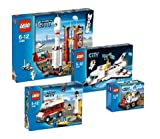 LEGO City 3365 3366 3367 3368 LEGO Space Super Set