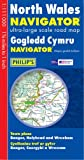 North Wales Navigator Ultra-Large Scale Road Map: Town Plans - Bangor, Holyhead & Wrexham (Philip's Road Atlases & Maps)