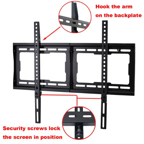 """TV Wall Mount for Most 32"""" - 65"""" LCD, LED, Plasma, HDTV Flat Panel TV"""