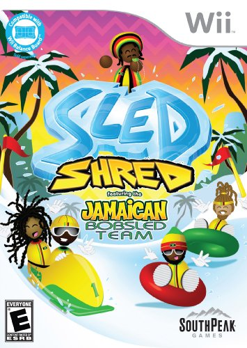 Sled Shred featuring the Jamaican Bobsled Team - Nintendo Wii