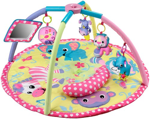 Infantino Baby Girl Animals Twist And Fold Activity Gym