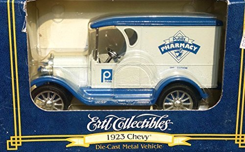 ertl-publix-pharmacy-1923-chevy-truck-bank-in-125-scale-diecast-metal-by-ertl