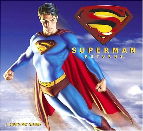 Superman Returns 2007 Wall Calendar - Buy Superman Returns 2007 Wall Calendar - Purchase Superman Returns 2007 Wall Calendar (Day Dream, Office Products, Categories, Office & School Supplies, Calendars Planners & Personal Organizers, Wall Calendars)