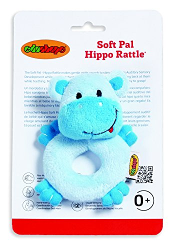 Edushape Soft Pal, Hippo Rattle