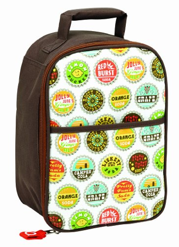 SugarBooger Zippee Lunch Tote, Bottle Cap