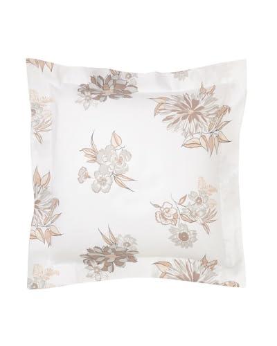 Belle Epoque Linen Flower Euro Sham