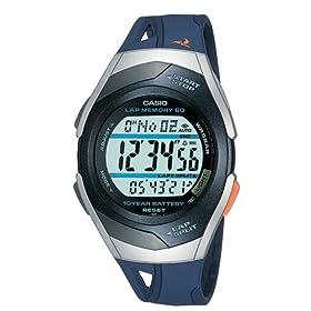 【クリックで詳細表示】[カシオ]CASIO 腕時計 PHYS フィズ ランナーウォッチ LAP MEMORY60 TOUGH BATTERY10 STR-300J-2AJF