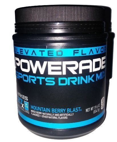 Powerade Sports Drink Mix Mountain Berry Blast Sports Drink Powder Mix 19.6oz Makes 2.5 Gallons (Powder Sports Drink Mix compare prices)