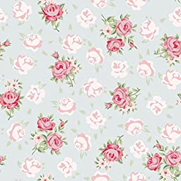 HUAYI 5x7FT Pink floral flowers Photography Newborn Backdrop D6944